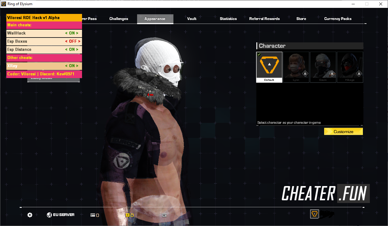 ring of elysium hack download
