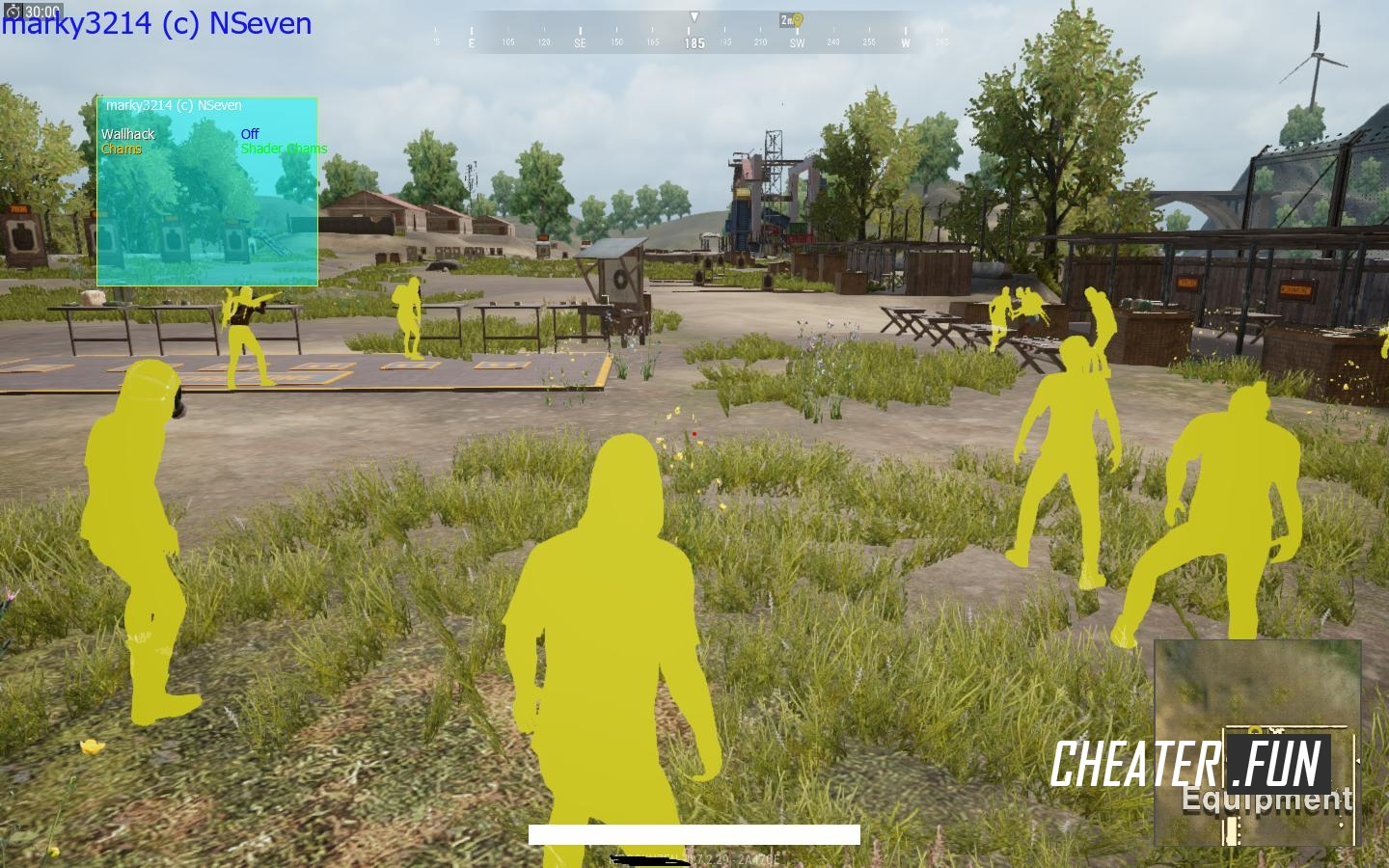 Download cheat for PUBG Lite Wallhack free hack
