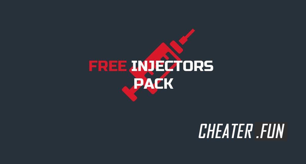 Download Free injectors (pack) for CS:GO, GTA 5, Apex