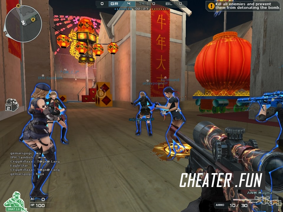 Download cheat for CrossFire CFPHRazerXJosh Simple No Menu
