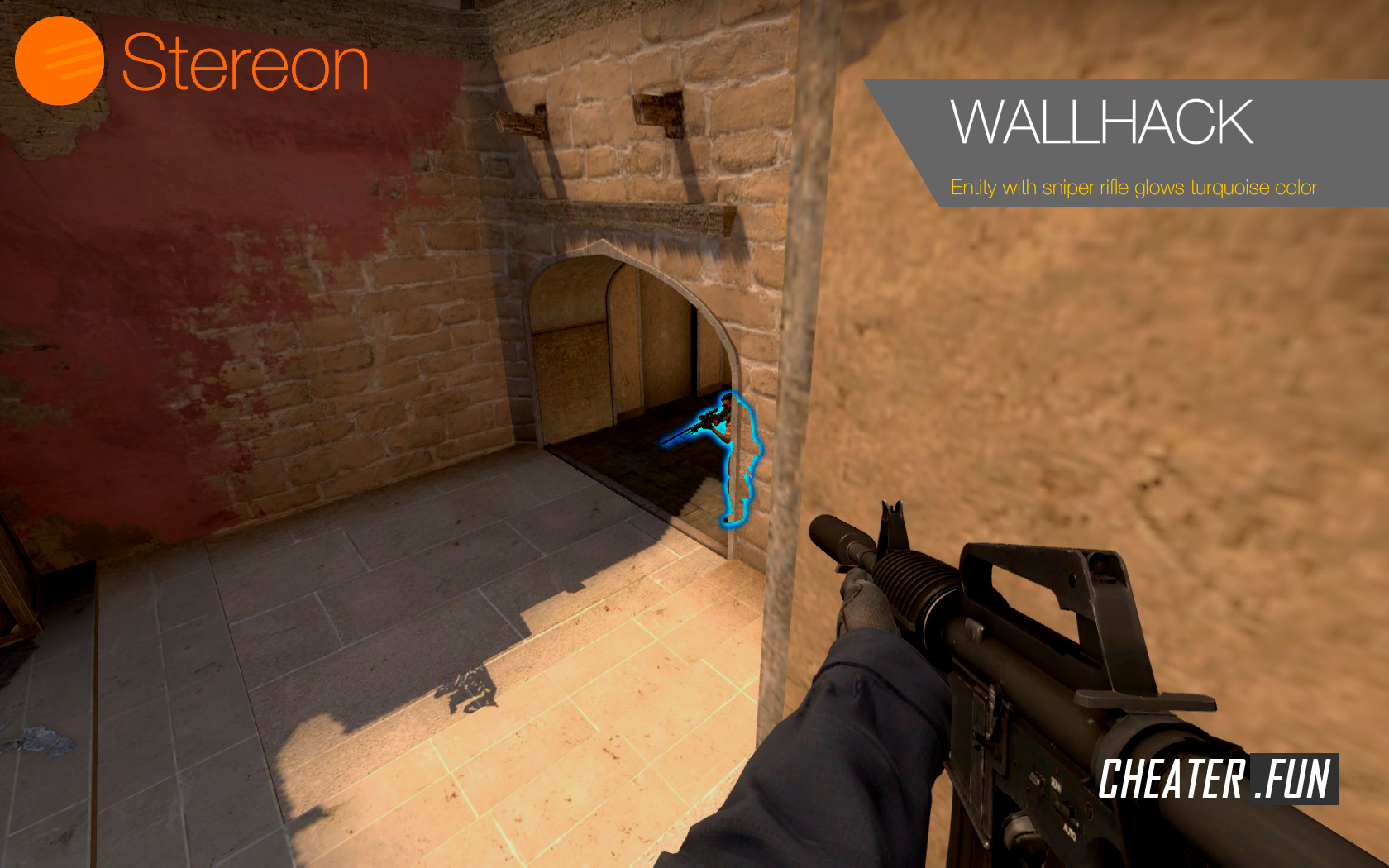 Stereon - AimBot, Wallhack, Sound ESP, Bomb info » CHEATER FUN