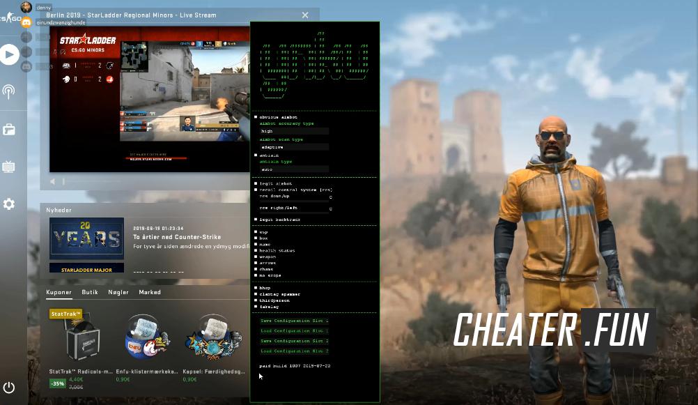 Download cheat for CSGO ynku cc leak (crack) - ESP, Legit